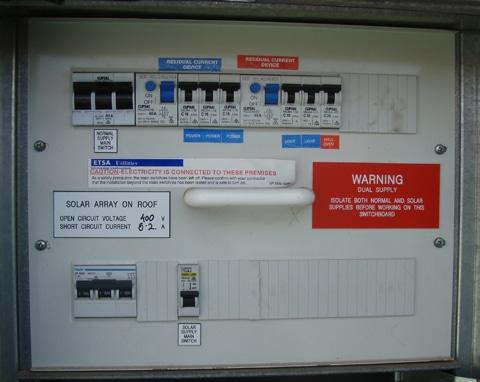 inside a meter box