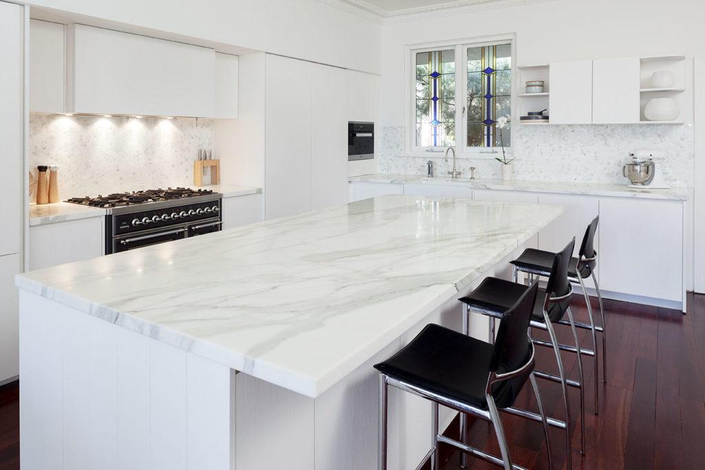 kitchen counter top installation
